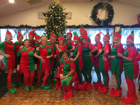 The Fort Pierce Yacht Club held its Trim a Tree event