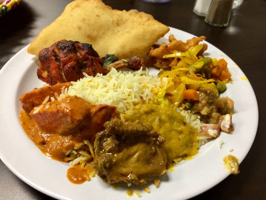 a sampling of mostly Pakistani cuisine at the new Da