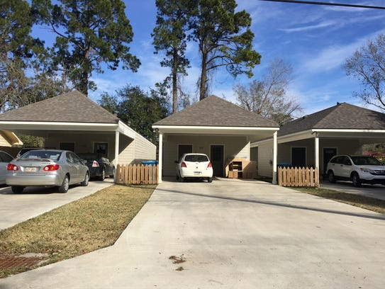 Some homeowners in Holden Heights subdivision in Lafayette,