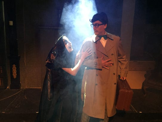 Andy Moerjon as Igor and William Silva as Frederick