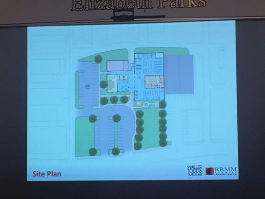 An architectural rendering of the new Eastern Shore