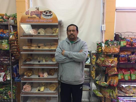 Agustin Gonzalez, owner of Tienda y Taqueria Gonzalez,