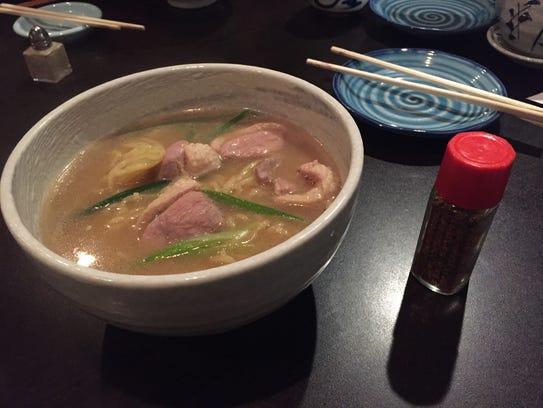 Duck ramen from Mei in Montgomery.