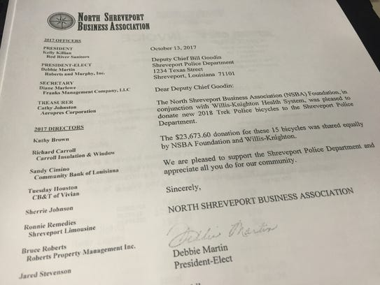 A letter from the North Shreveport Business Association