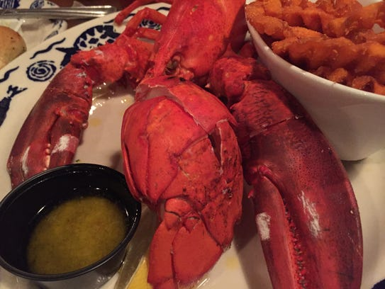 The $19.99 lobster special at Feby's Fishery in Wilmington