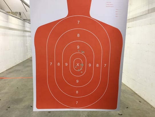 Target shot by Tribune reporter Traci Rosenbaum at