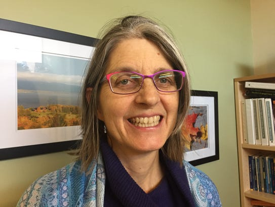 Susanmarie Harrington, School Board Commissioner for Ward 5, is running for re-election in March. Harrington is a professor of English at the University of Vermont