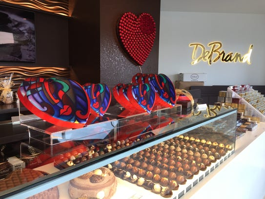 DeBrand Fine Chocolates, 8685 River Crossing Blvd.,