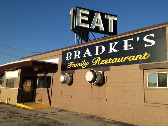 Bradke's Family Restaurant in Neenah made the top 15