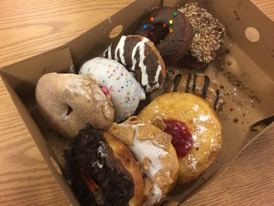 The new Holey Schmidt Donuts in Midtown Reno offers