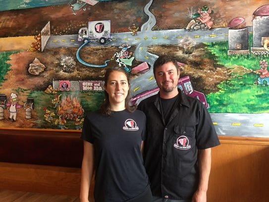 Elisabeth Cowan and Sean Parker are co-owners of Oink
