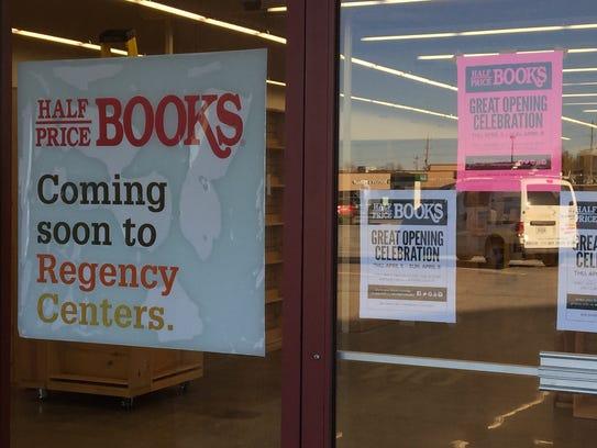 A Half Price Books opens in the Cherry Grove Plaza