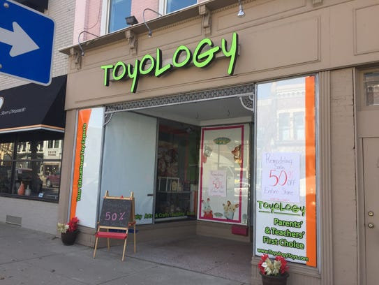 Toyology's Howell location, seen on Wednesday, Feb.