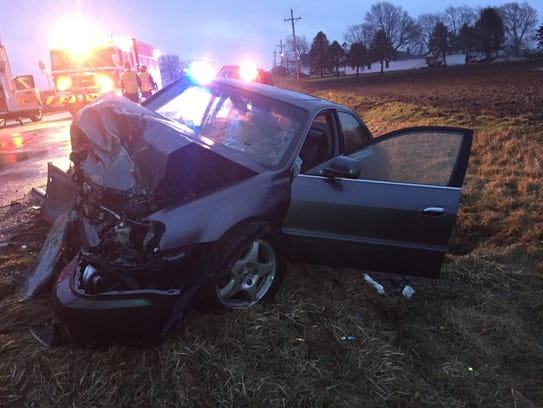 A Western Boone High School student died after a two-vehicle