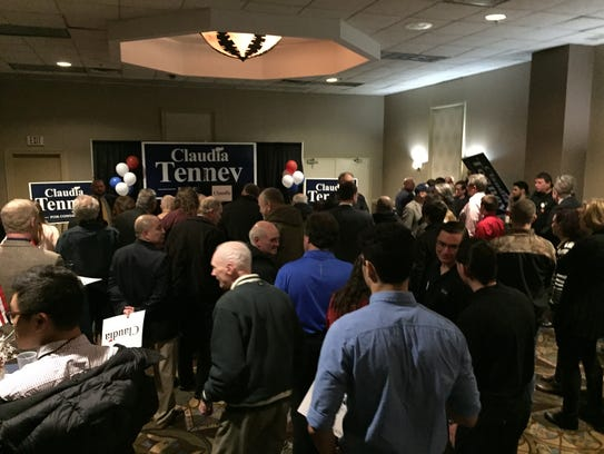 Congresswoman Claudia Tenney officially launched her