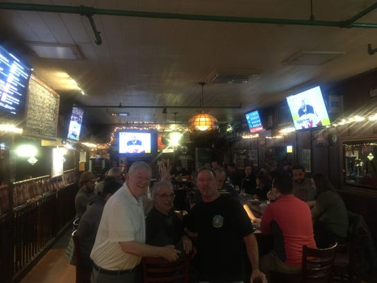 A crowded house at Poor Henry's in Montville.