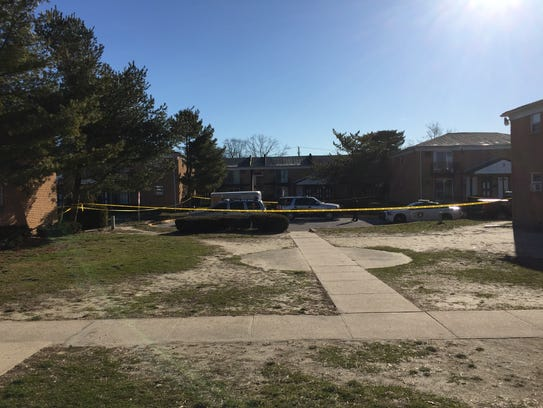 Police continued to investigate the morning after a