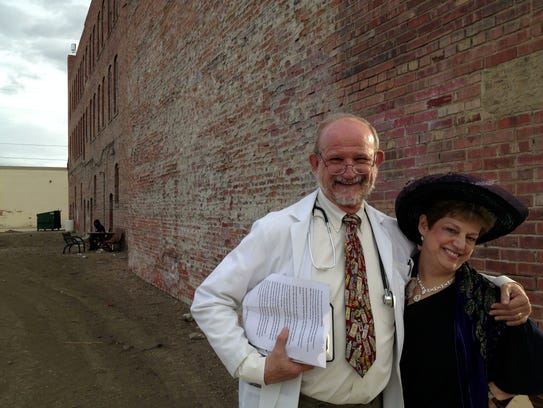 Dr. Pat Galvas playing Dr. Dolan of the City-County