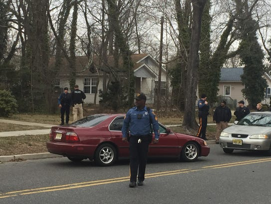 Vineland police investigate a  collision in front of