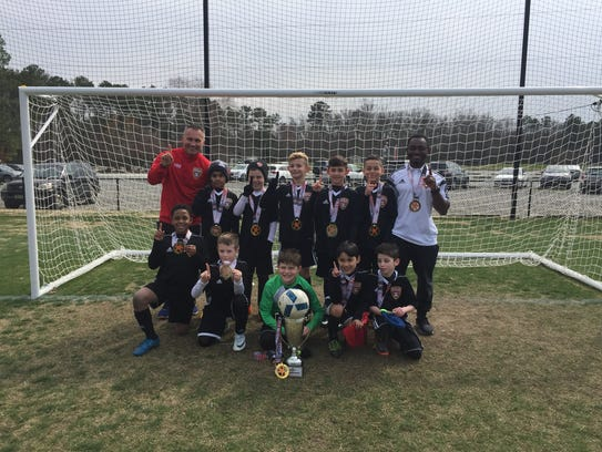 Bridgewater 08 Academy attended a tournament in Virginia