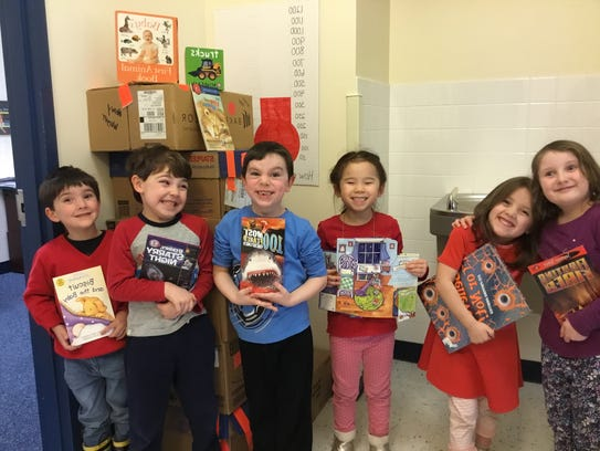 The Goddard School recently conducted a book drive.