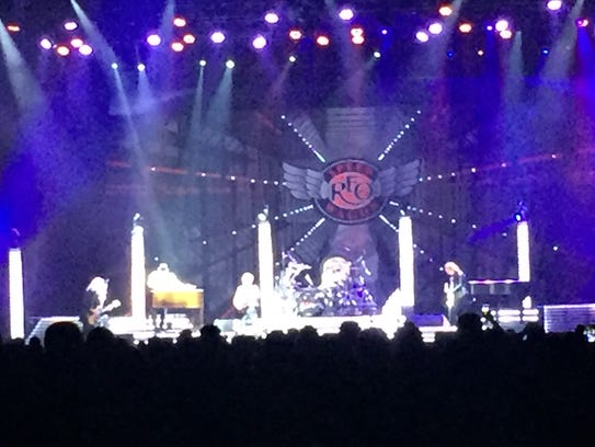 The Greenville concert is a double bill with Styx and REO Speedwagon.