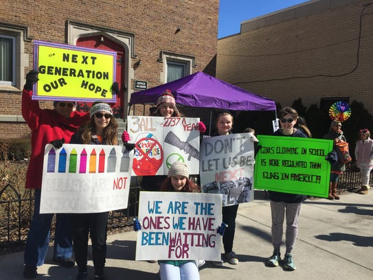 Vestal high school students were among the nearly 2,000