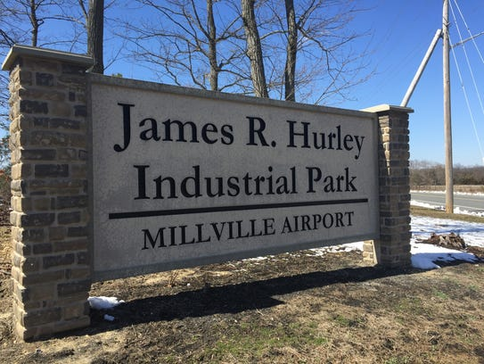 Millville erected this sign at Bogden Boulevard and