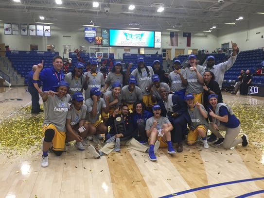 The TCC women's basketball team won five games in as