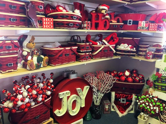 The Santa Belly baskets are among Longaberger's most