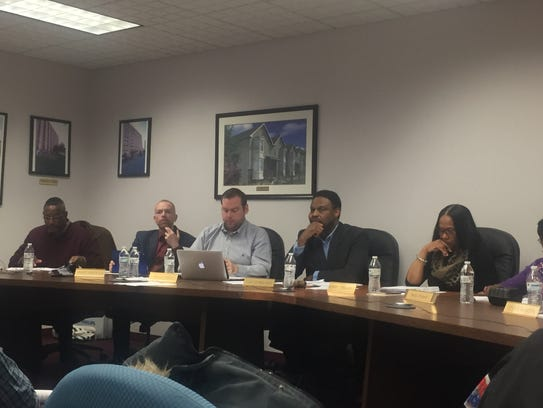 Members of the Wilmington Housing Authority board of