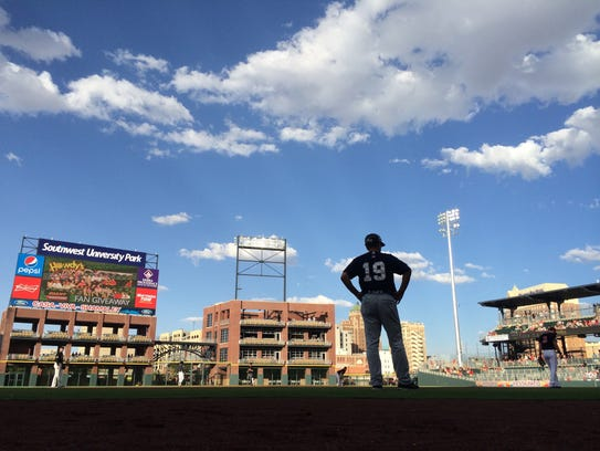 Fans can get some nice photos at the Chihuahuas baseball