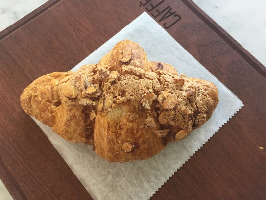 Almond croissant from Pelham's Caffe Ammi