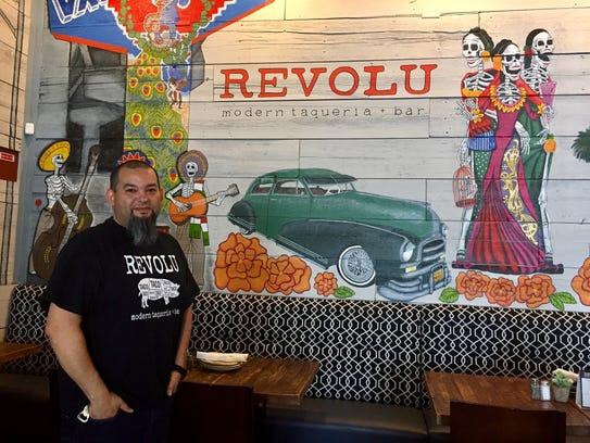 Jeremiah Gracia, co-owner and head chef of Revolu Modern