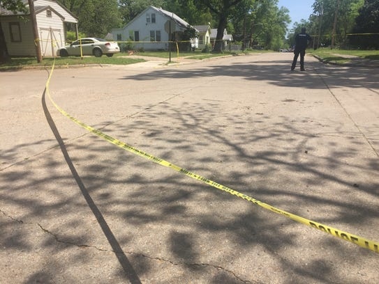 Police responded to a shooting on Natalie Street in