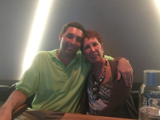 Bobby Reiss, who died of an opioid overdose in 2017, with his mother Eleanor Reiss.