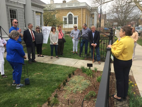 """""""Garden Day"""" at Robbins Hunter Museum saw an American"""
