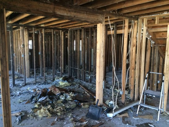 Good News Habitat for Humanity has stripped a home