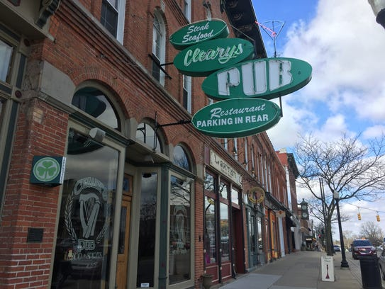Cleary's Pub in Howell, as seen April 25, 2018. A Powerball