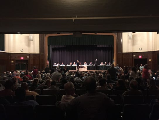 People file in for a Long Branch election candidates