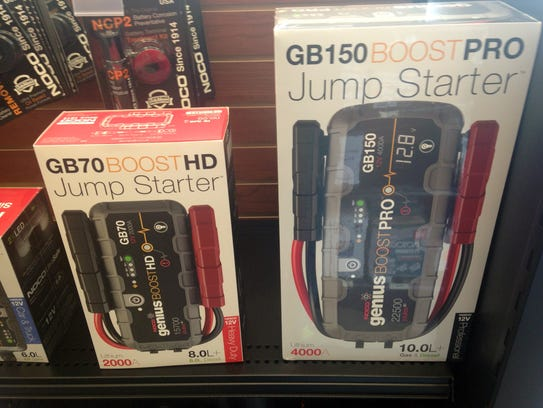 Jump-starter packs can come in handy for the stranded