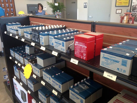 Master Battery carries a full line of name-brand batteries