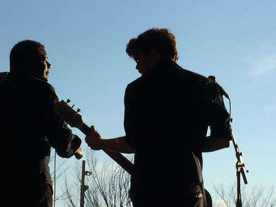 Burlington rockers Rough Francis perform on the main