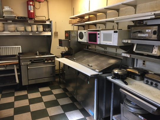 Kitchen equipment from the now-closed Yum Yum Tree