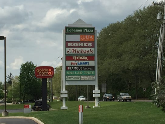 Lebanon Plaza, located at 1301 Quintin Road, is soon