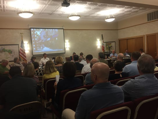 Granville Council prepares for what became a three-and-a-half-hour