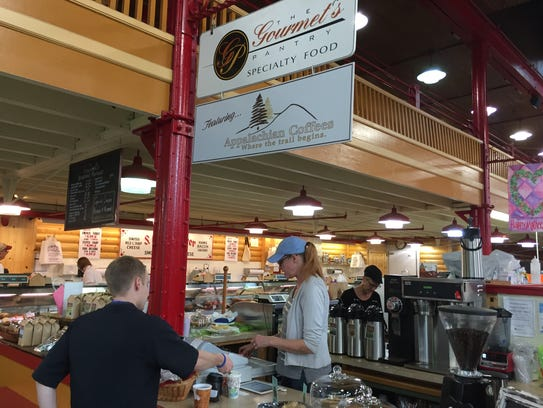 The Gourmet's Pantry will move to a new renovated stand
