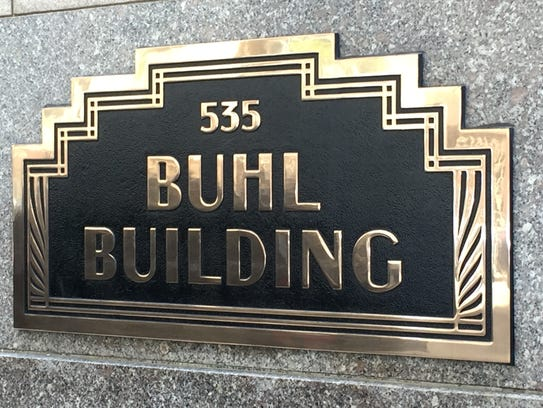The Buhl Building in downtown Detroit.