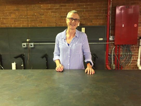 Laurie Funk, owner of The Gourmet's Pantry, is moving