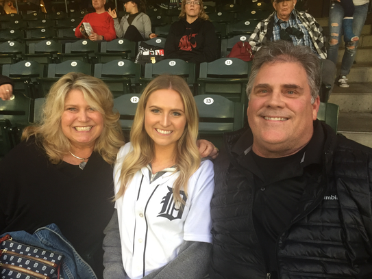 Matthew Boyd's family — mother Lisa, sister Jessica and father Kurt — watched from the stands in section 134 on Thursday at Safeco Field in Seattle.